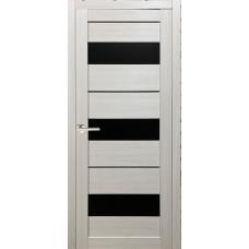 Межкомнатная дверь экошпон 12Х беленый дуб