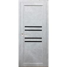 Межкомнатная дверь экошпон 41Х бетон снежный