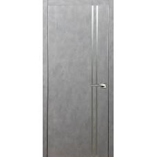 Техно 11 бетон серый с алюминиевой кромкой
