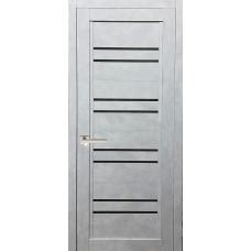 Межкомнатная дверь экошпон 42Х бетон снежный