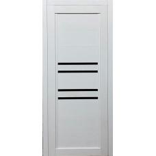 Межкомнатная дверь экошпон 41Х белый ясень