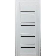 Межкомнатная дверь экошпон 42Х белый ясень